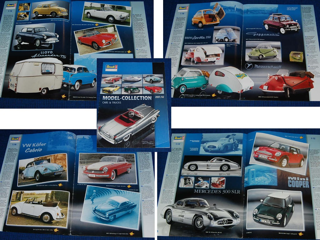 'Revell Model-collection Cars & Trucks 2001-02