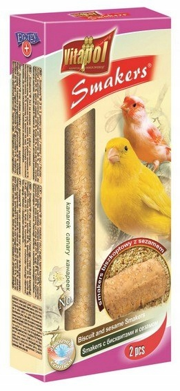 Vitapol Smakers dla kanarka - biszkopt z sezamem 2