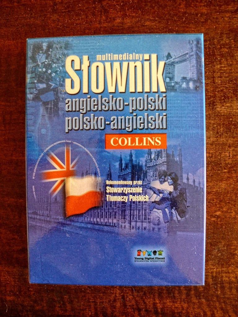 Słownik Collins Ang-Pl i Pl-Ani CD, nowy, BCM!
