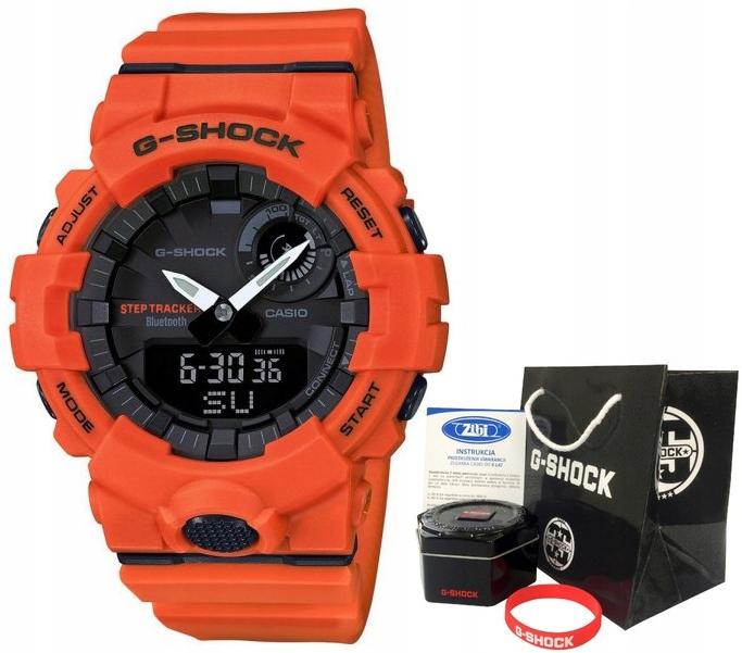 Zegarek dla chłopca Casio G-SHOCK GBA-800-4AER