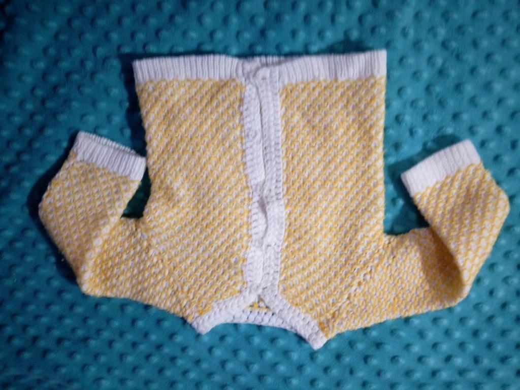 sweterek rozpinany niemowlęcy 62cm