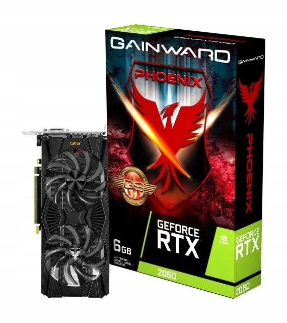 Karta graficzna GeForce RTX 2060 Phoenix GS 6GB
