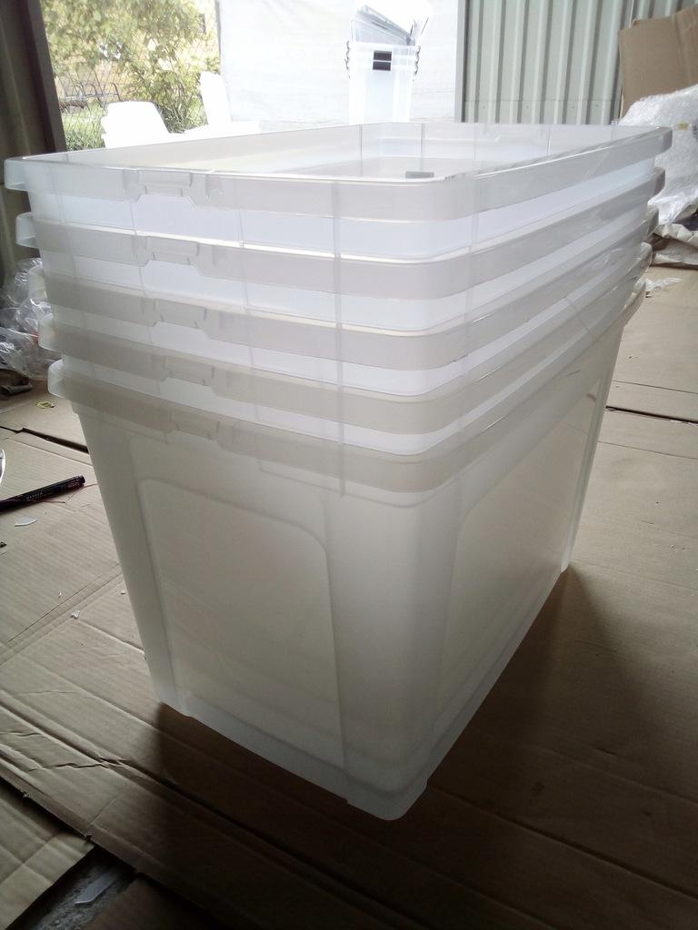 IRIS Pojemnik Pudełko 70L MOCNE bez pokrywy