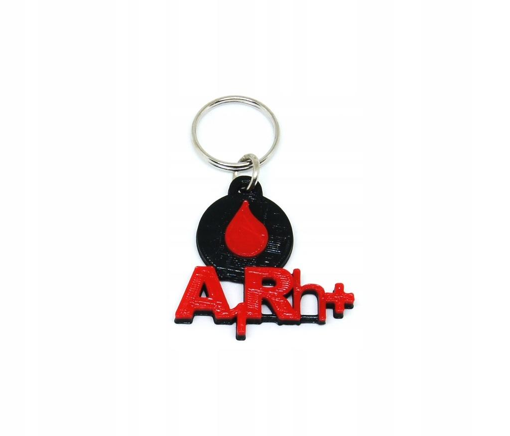 Brelok GRUPA KRWI A1Rh+ zawieszka breloczek krew