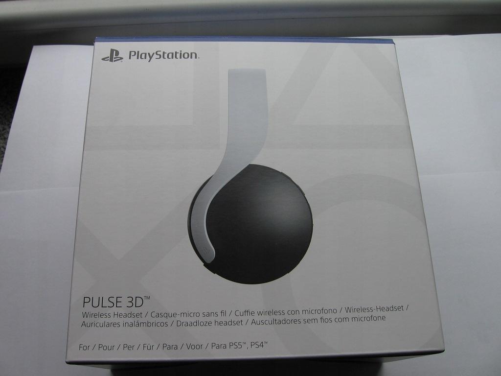Sony Pulse 3D | Słuchawki bezprzewodowe PS5 |