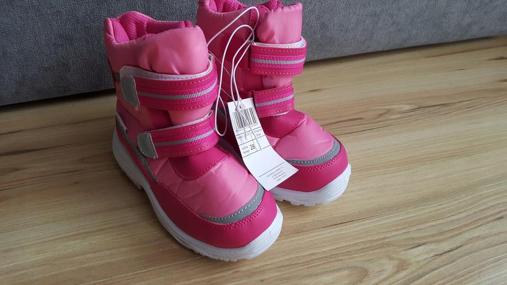 Buty zimowe śniegowce r28 5.10.15.
