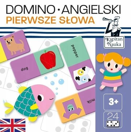 Kapitan Nauka: Domino Angielski - Pierwsze słowa