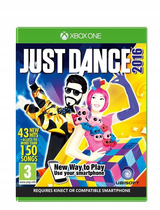 Just Dance 2016 Xbox One Nowa Folia Plyta 7657489468 Oficjalne Archiwum Allegro