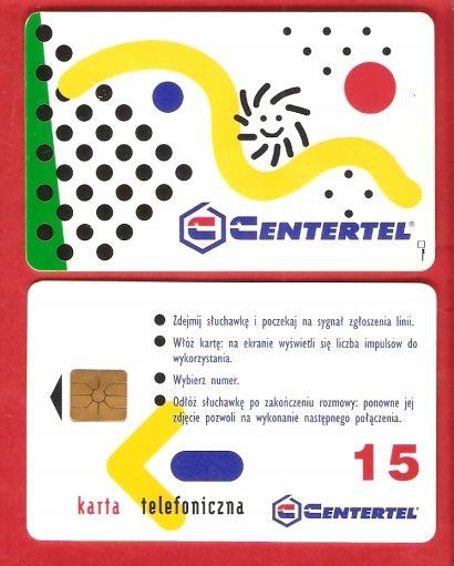 POLSKA - karta chipowa - NOWA w folii
