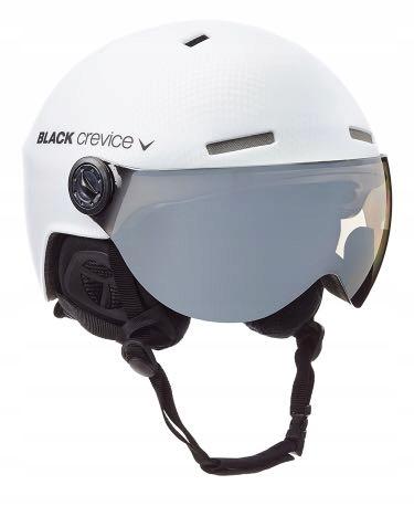 Kask BLACK CREVICE GSTAAD MATT WHITE M/L 58-61cm