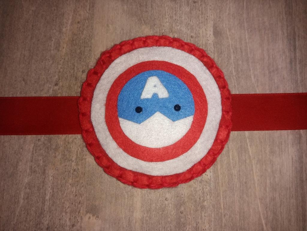 Kapitan Ameryka spinka do firan zasłon do pokoju