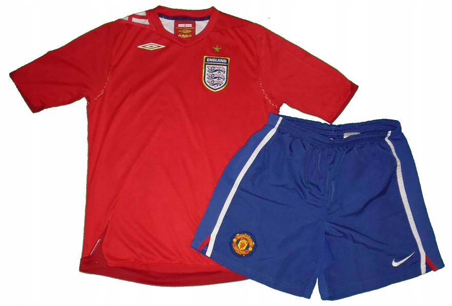 Zestaw piłkarski Koszulka+spodenki roz 152
