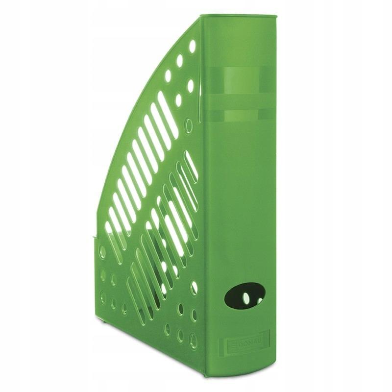 Pojemnik na dokumenty ażurowy A4 zielony