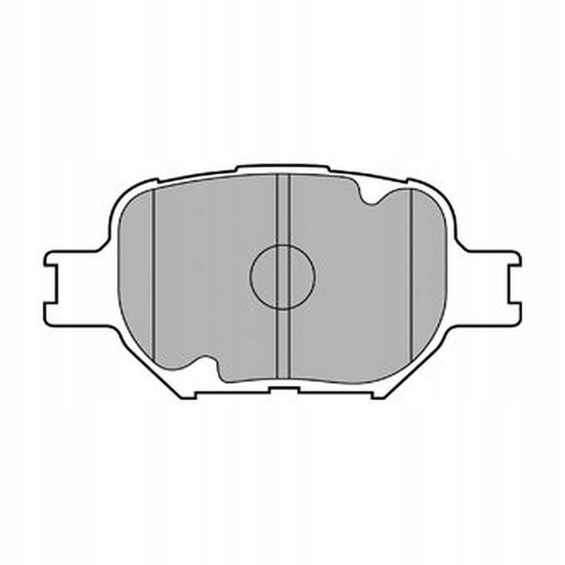 Klocki hamulcowe Delphi Toyota Corolla ZDE12