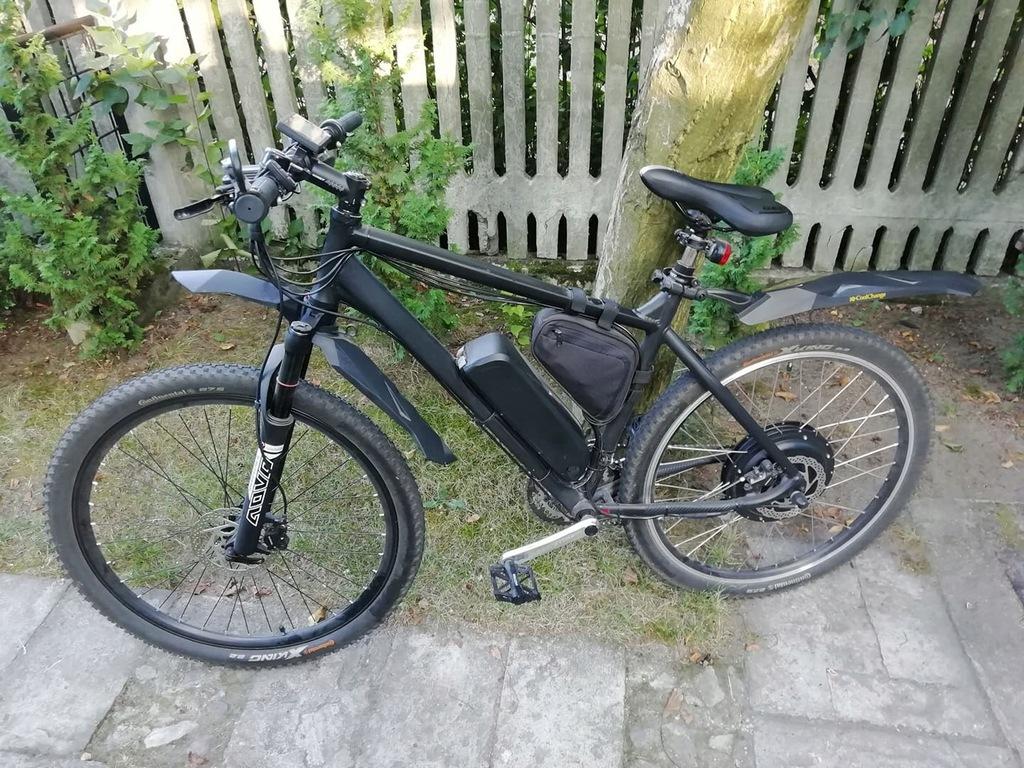 rower elektryczny Ebike