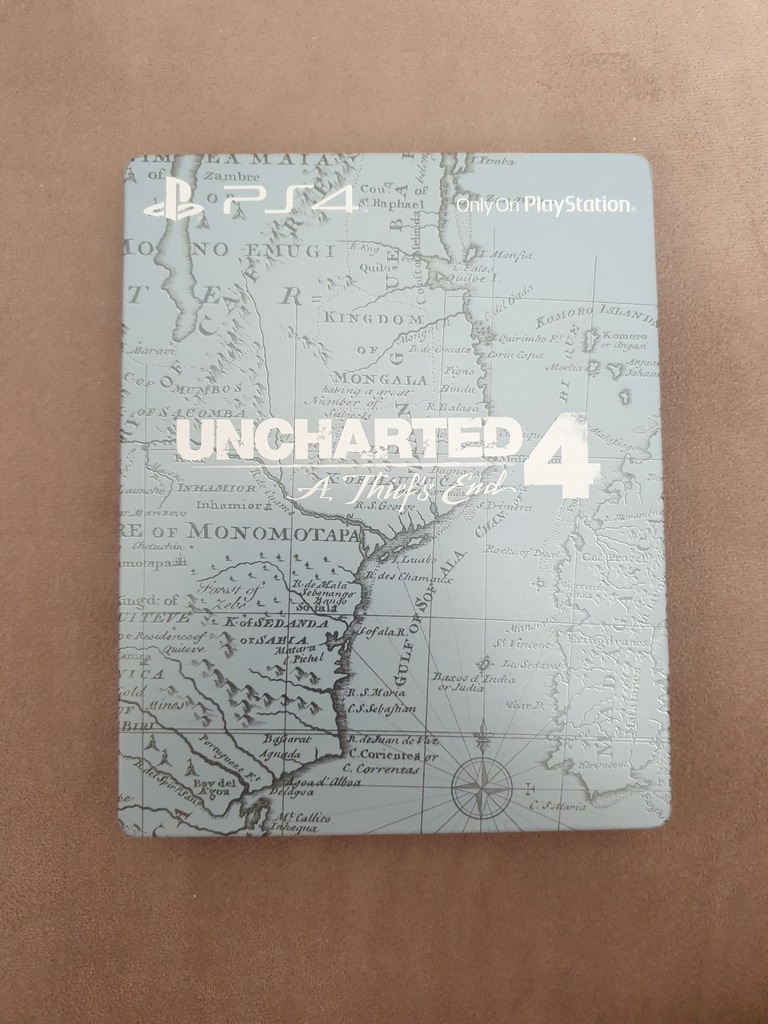 UNCHARTED 4 - UNIKALNY STEELBOOK