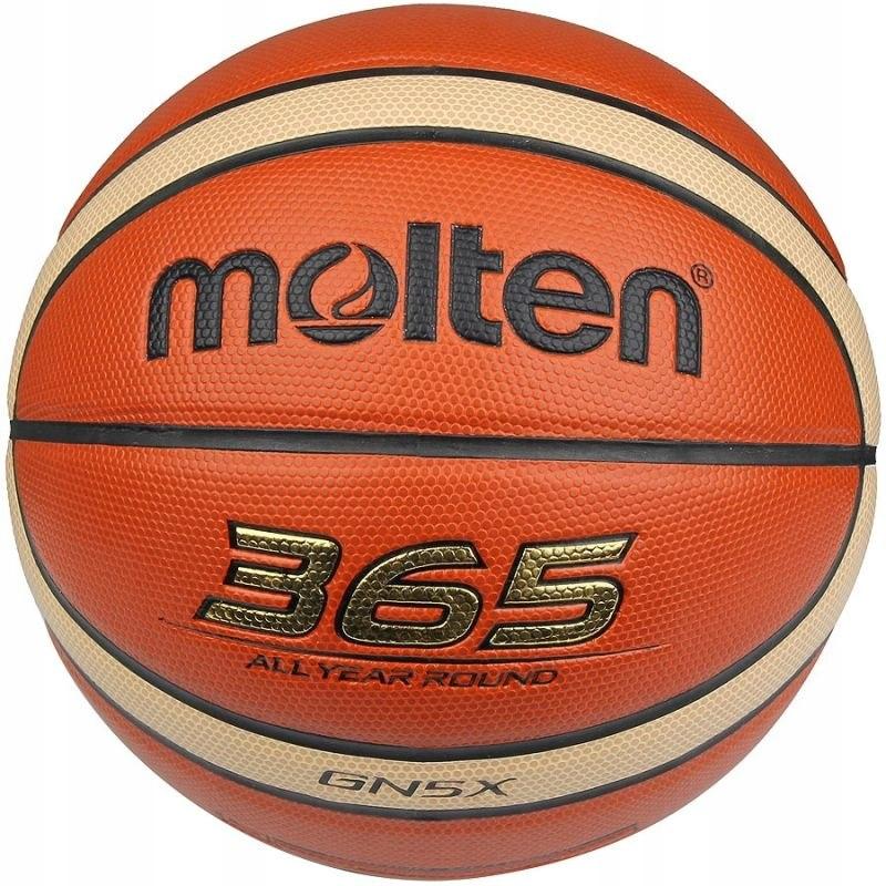 Piłka do koszykówki 5 Molten 365 GN5X