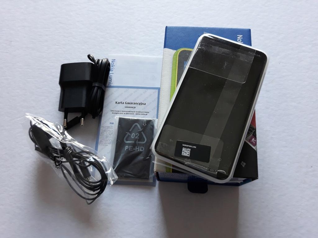Nowa Polska Nokia Lumia 620 biała kpl gw 12 m