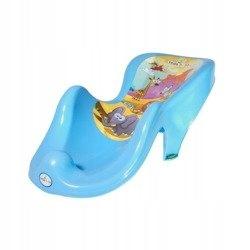 fotelik do kąpieli antypoślizgowy Safari niebieski