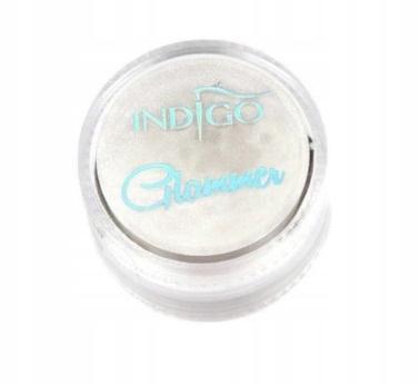 INDIGO Pyłek Glammer silver efekt perłowy
