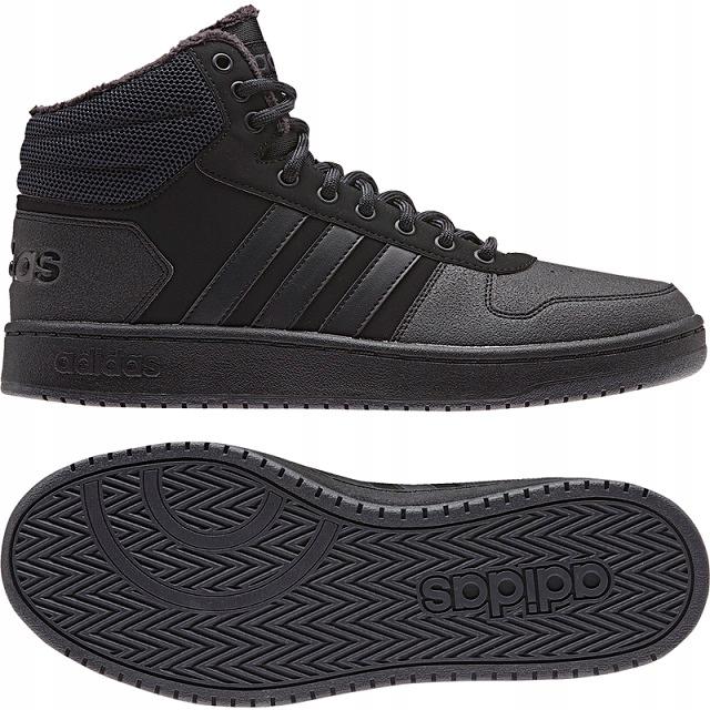 Buty męskie Adidas Hoops 2.0 MID B44621 r. 42 7702934274