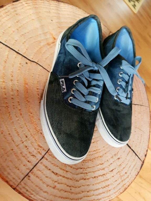 Buty sneakersy Fila Deichmann 40 granat niebieski