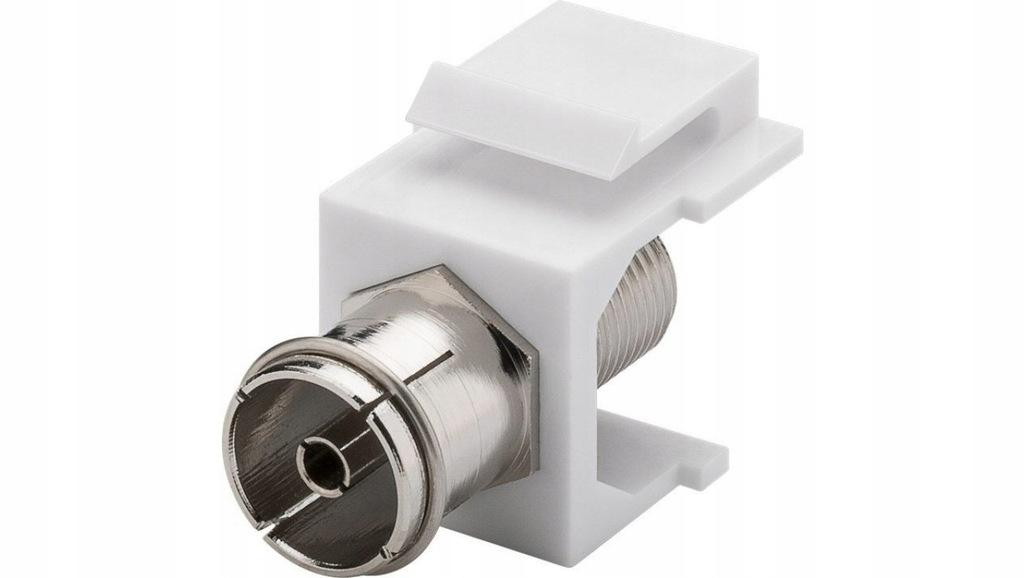 Keystone moduł SAT/antena - gniazdo IEC > gniaz
