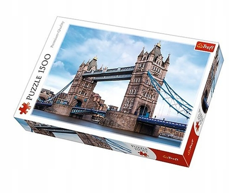PUZZLE 1500 EL TOWER BRIDGE NAD TAMIZĄ 26140 TREFL
