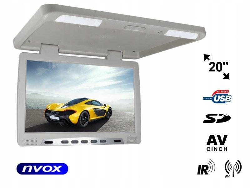 Monitor podwieszany podsufitowy LCD 20cali cali
