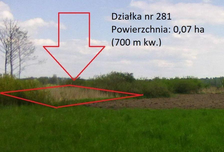 WLASNY grunt TANIO - mała działka na uboczu 700 m2