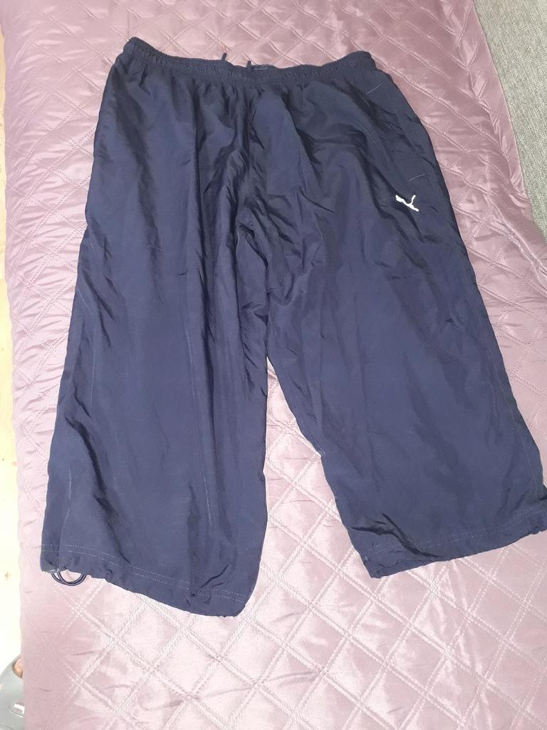 Spodnie dresowe 3/4 Puma pas 84-118cm.