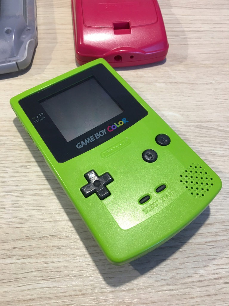 Obudowa Game Boy Color zielona