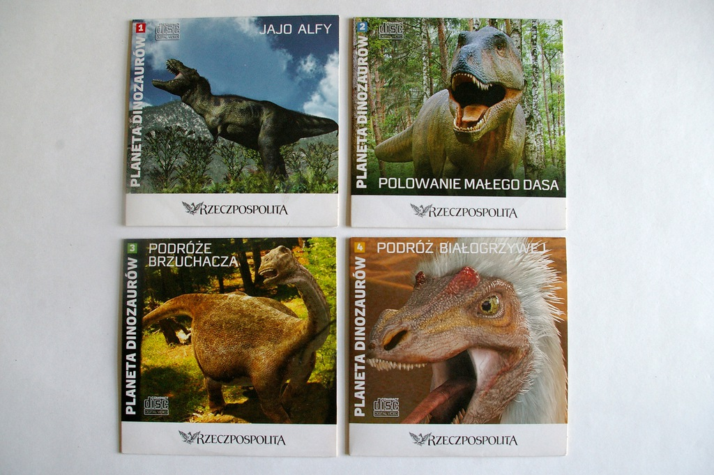 Planeta dinozaurów 1-4
