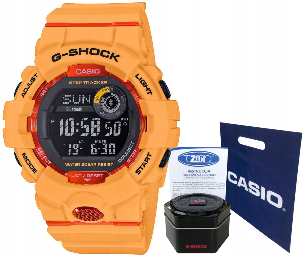 Zegarek dla chłopca Casio G-SHOCK GBD-800-4ER