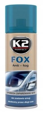 K2 FOX - ZAPOBIEGA PAROWANIU SZYB - 200 ml