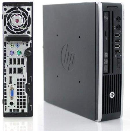 HP 8200 USDT USFF i3-2120 4GB 320GB W7 DVD RW