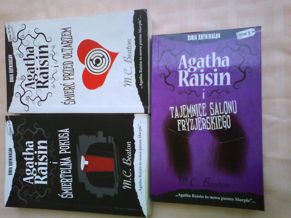 M.C. Beaton-Agatha Raisin i  tajemnica salonu fryz
