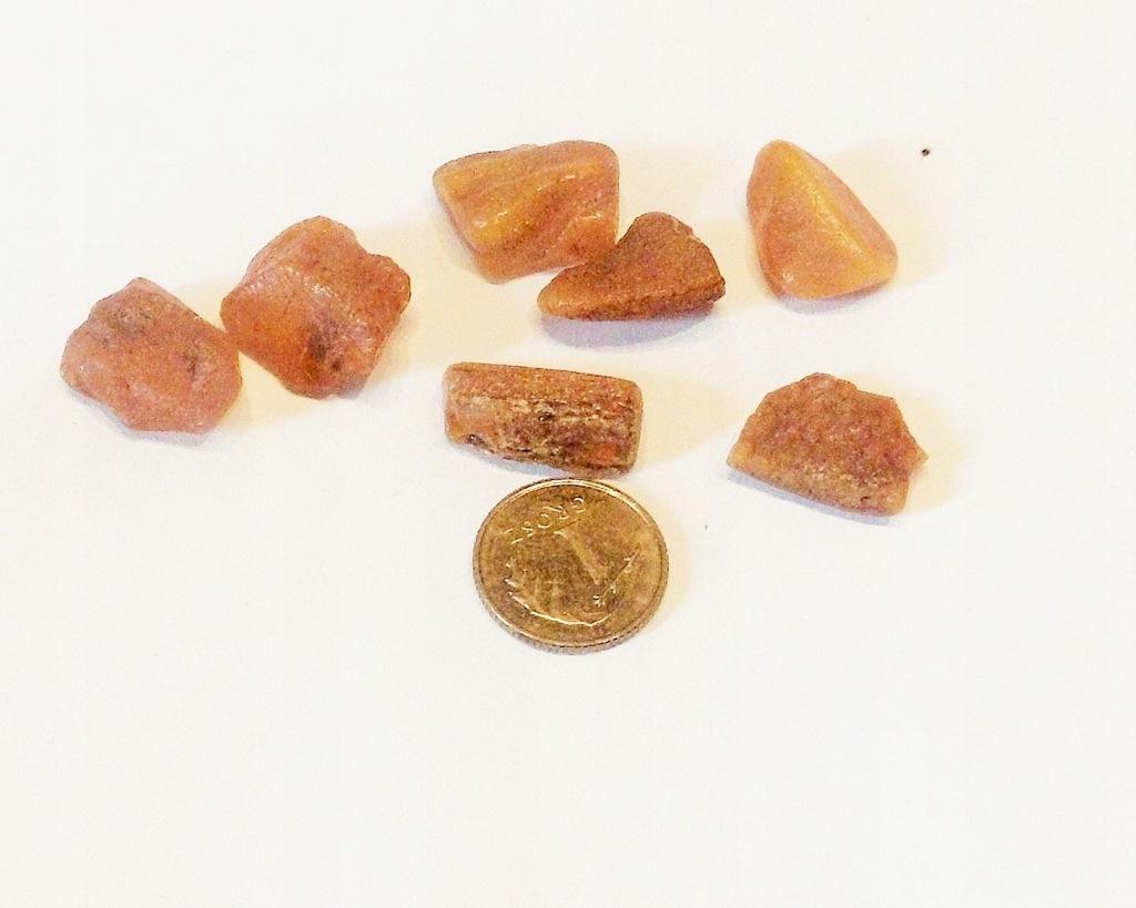 BURSZTYN - bryłki znalezione na plaży 5,1 g (4)