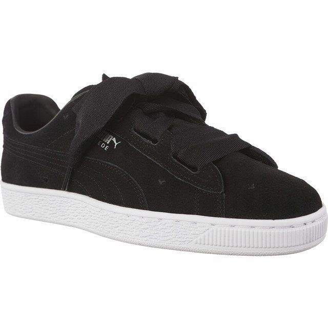 Sneakersy Buty Damskie Puma SUEDE z kokardą 39