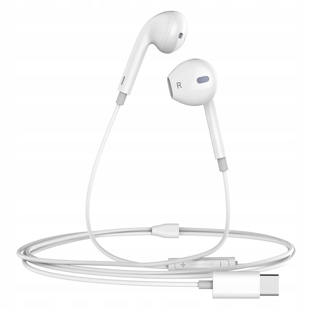 Słuchawki Przewodowe USB TYP-C SUPER MOCNY BASS