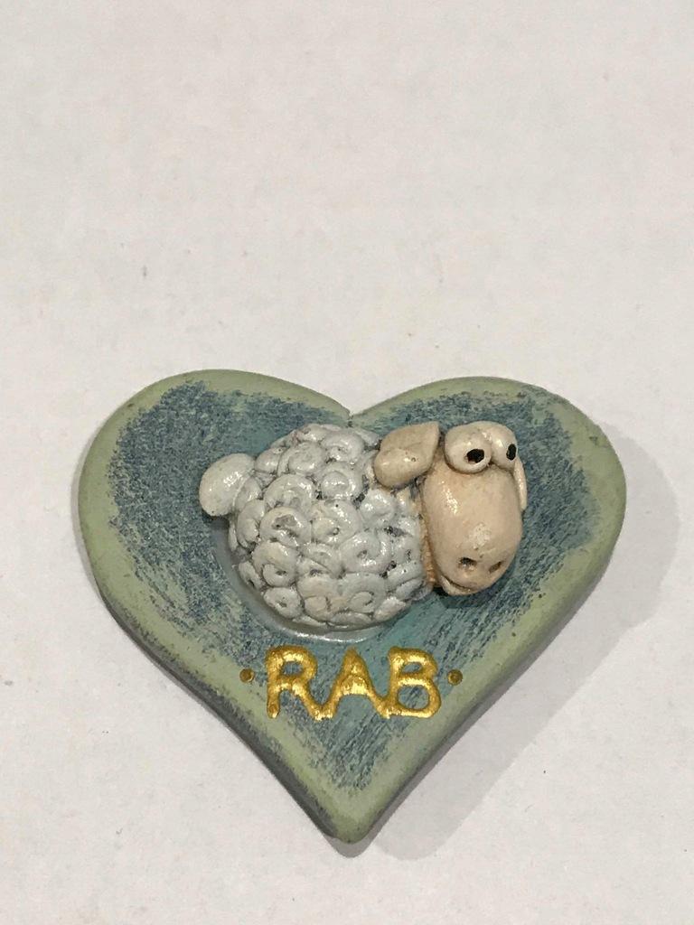 Magnes lodówkę magnez Chorwacja Wyspa Rab owca