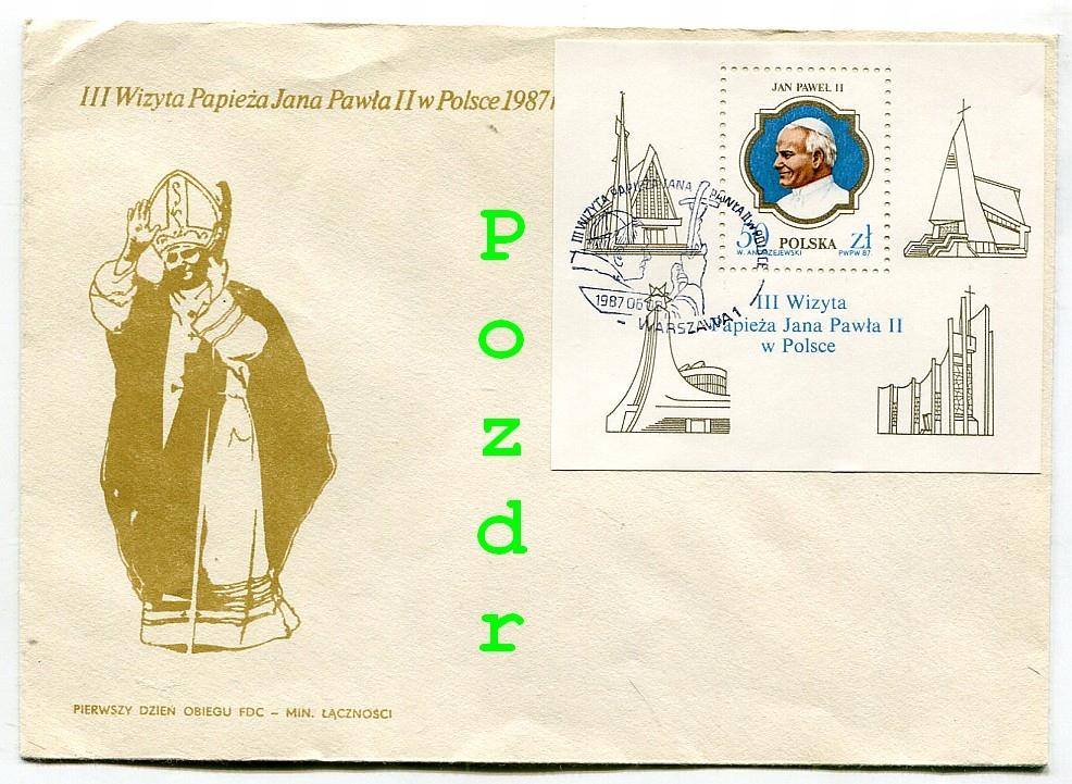 Papież Jan Paweł II -III Wizyta w Polsce-1987r