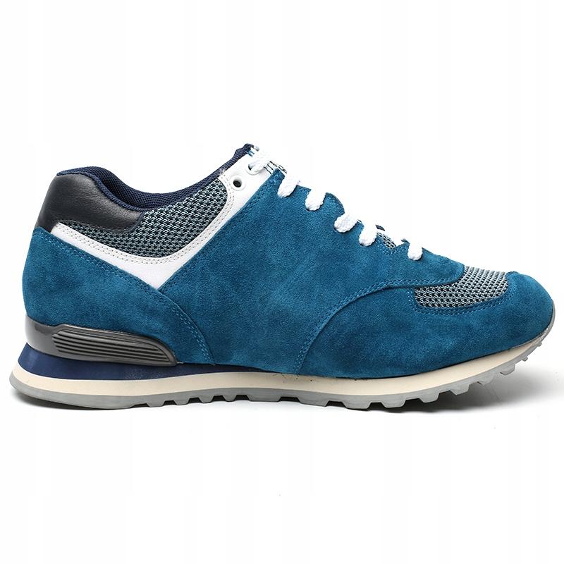 Męskie sportowe buty podwyższające +7 cm r. 37