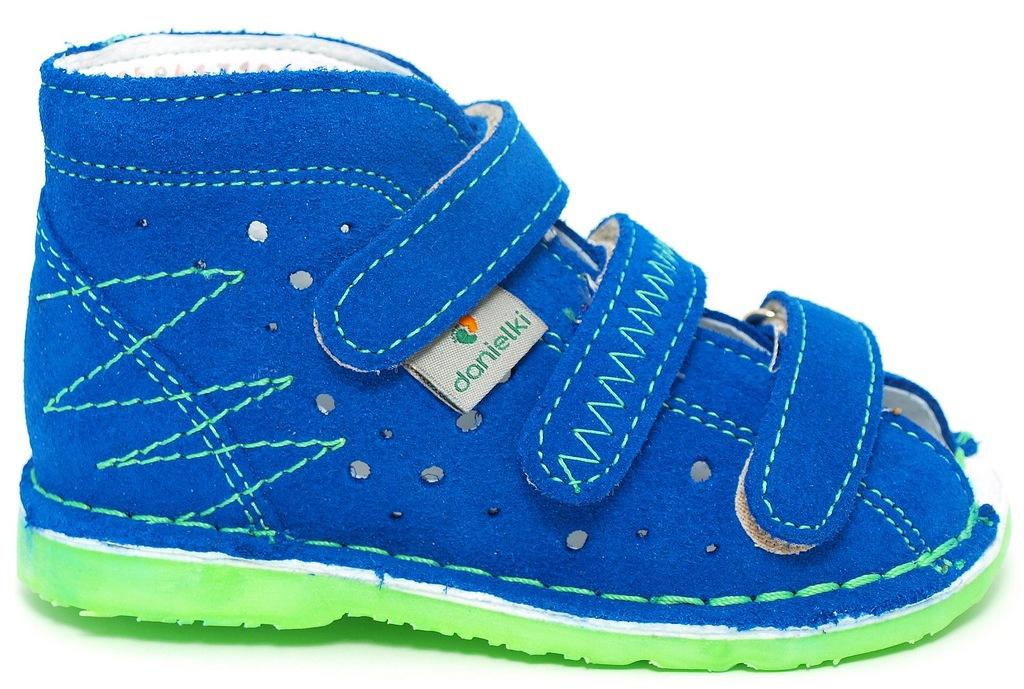 30 Danielki buty profilaktyczne sandały 20,2 cm
