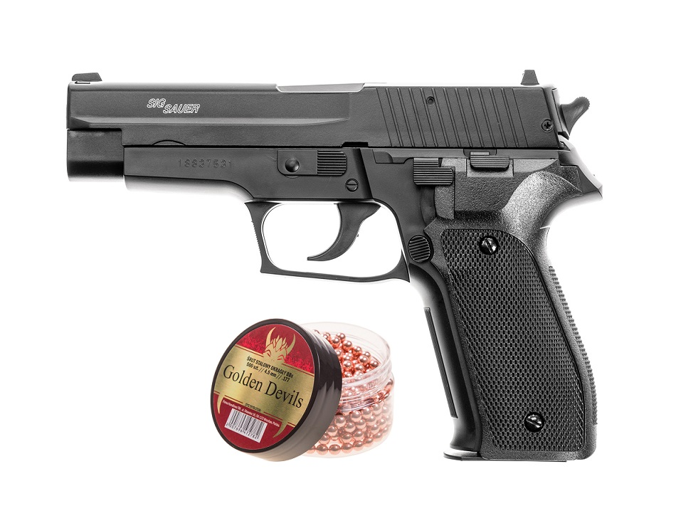 Wiatrówka Pistolet Sig Sauer P226 4,5 mm ZESTAW BB