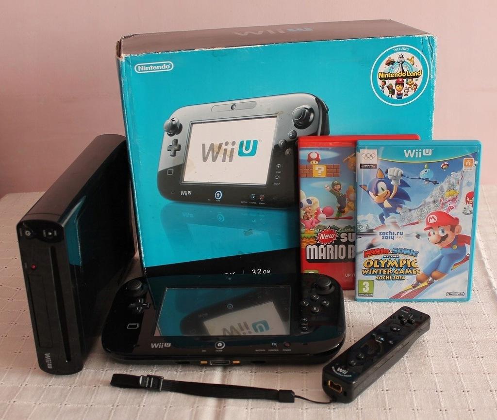 Konsola Wii U 32 Gb Super Zestaw W Pudelku Sklep 8749805291 Oficjalne Archiwum Allegro