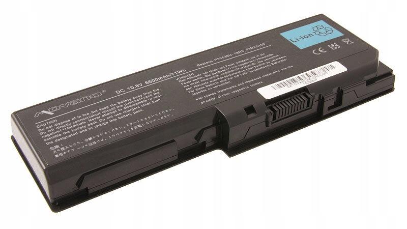 ** Akumulator MOVANO do Toshiba P200 6600mAh 10,8V
