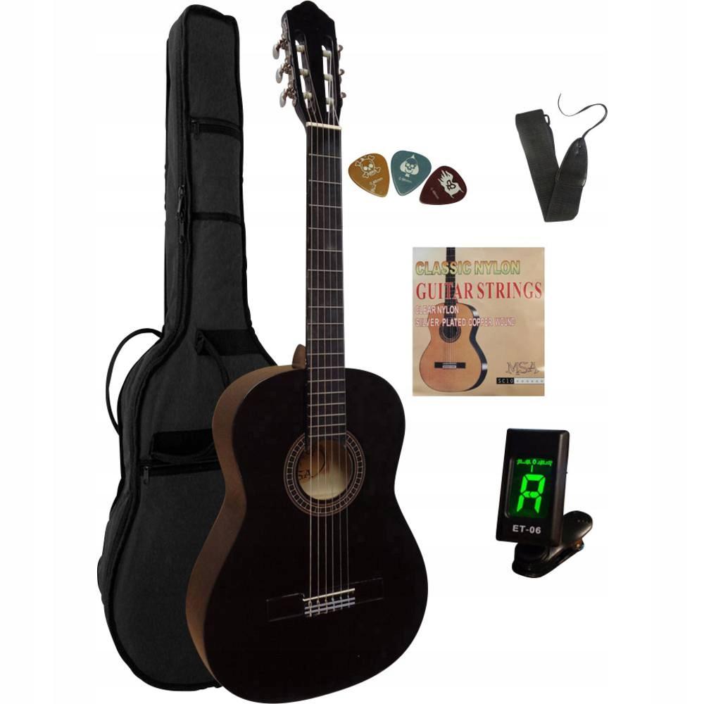 Zestaw gitary MSA Musikinstrumente C 21 Set Clip