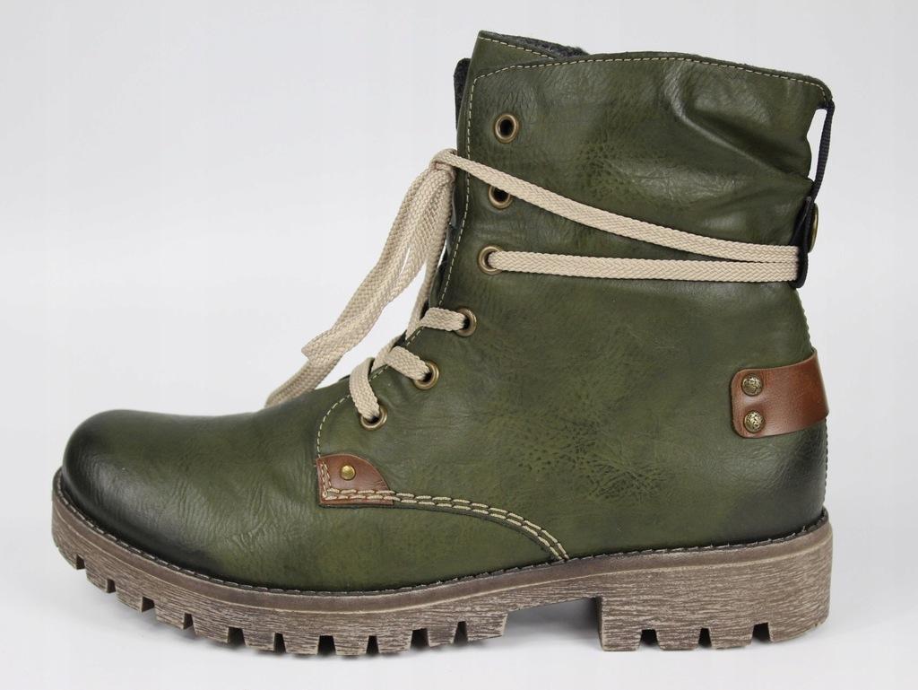 Damskie buty zimowe Rieker rozm. 39