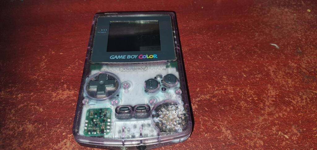 Game Boy Color CGB-001 + 4 Gry okazja!